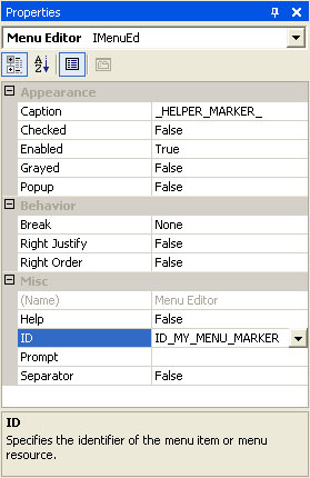 MFC Prof-UIS GUI Articles - Constructing Menus Dynamically at Run Time