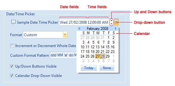 Datetimepicker format c#
