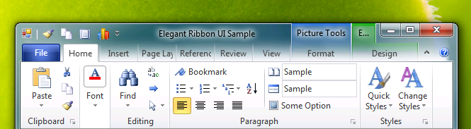 Office 2010 TP Theme
