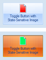 Elegant Ribbon Toggle Button on the Form