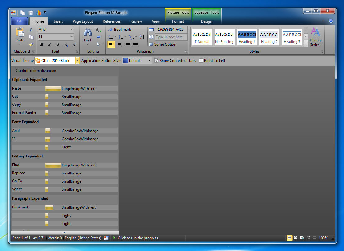 office 2010 themes