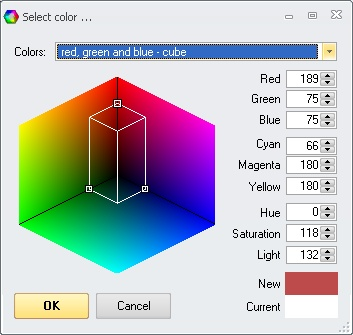 Prof-UIS: Color selection dialog box 5