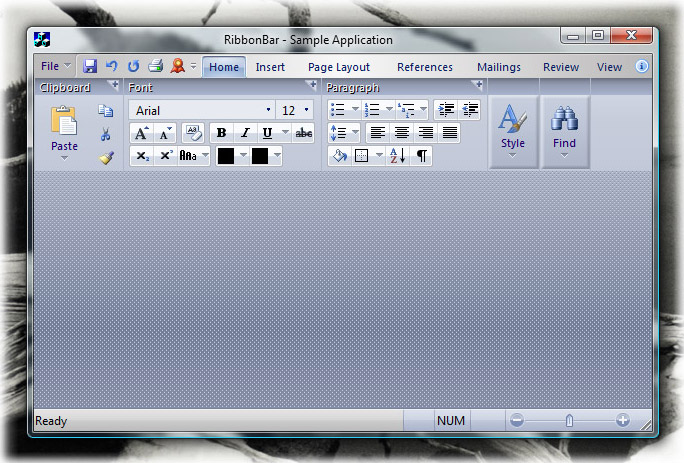 Ribbon Bar: R1 theme on Windows Vista
