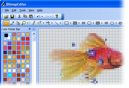 Mfc Prof Uis Tour Image Editor For Editing Icons And Bitmaps