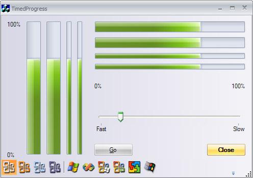 Progressbar Control - Developer Tools Free Download.